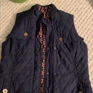 Lily Pulitzer reversible vest